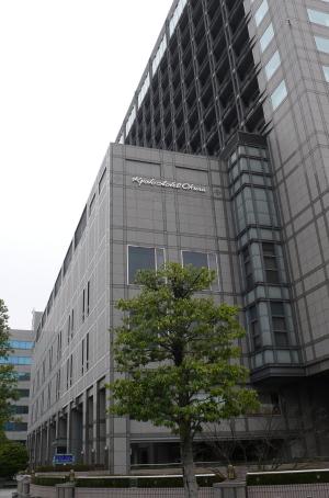 京都オークラ朝全景