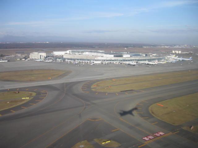 新千歳空港・・・
