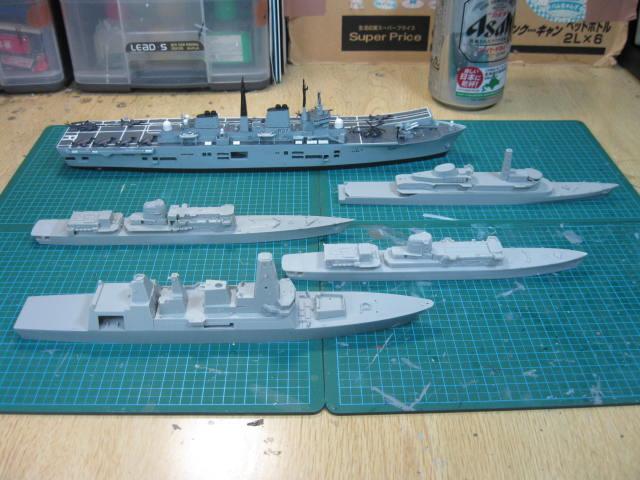 英国艦隊?・・・
