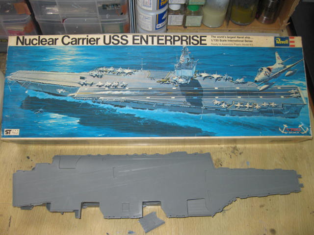 USS ENTERPRISE Revell 1/720