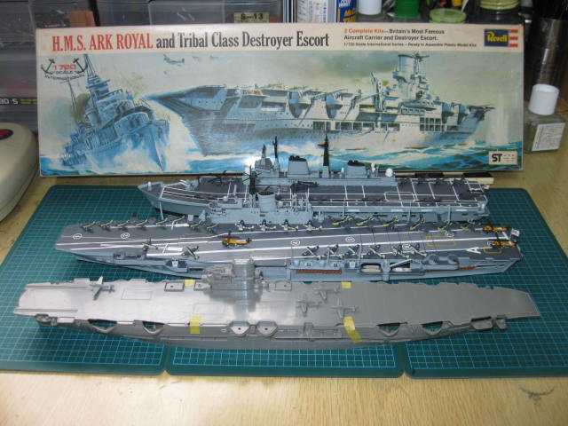 HMS ARK ROYAL  Revell