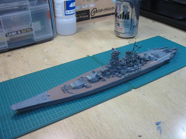 戦艦大和 沖縄戦時