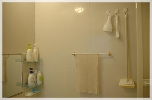 お風呂掃除用品の収納2