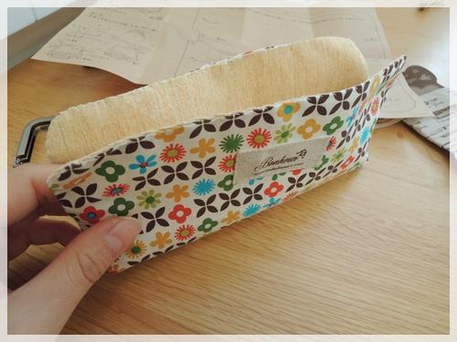 重ねてまつり縫い