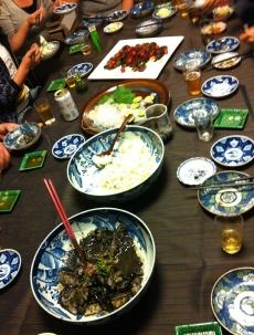 アトリエのお夕飯 1