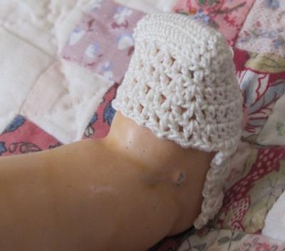 気に入らなかったので解いた編みかけソックス