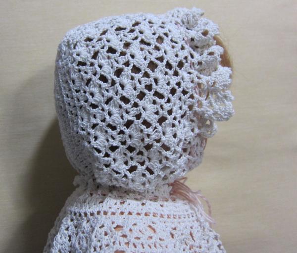 編み直したボネ