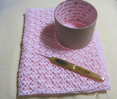 1玉編みきりの図