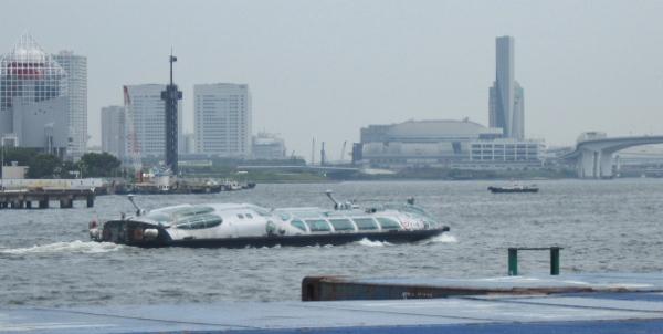 特撮のような船~!