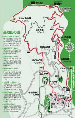 滋賀県鷹取山遊歩道map2
