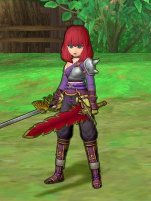 紫炎の双剣士
