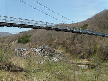 やまびこ吊り橋1