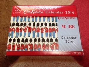 ブランド「Cath Kidston」卓上カレンダー