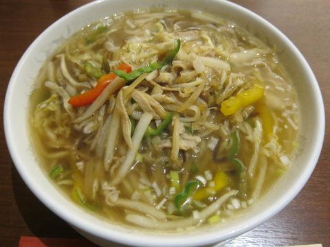 青冥(搾菜肉絲湯麵)