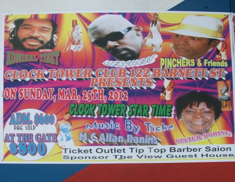 reggae event Jamaica