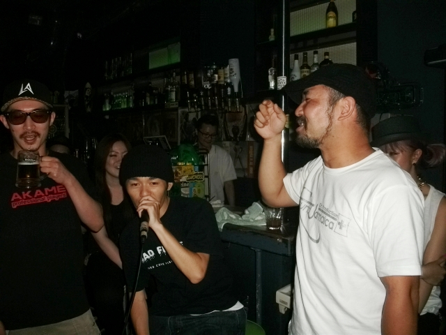 ATOOSHI, HIBI KILLA, PRETTY RANX @GARAM Girl`s Talk -Rub A dub
