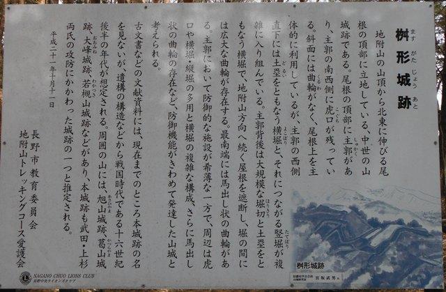 枡形城(長野市) (49)