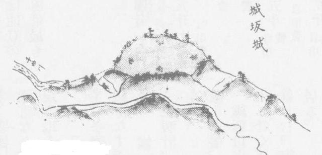 城坂城絵図