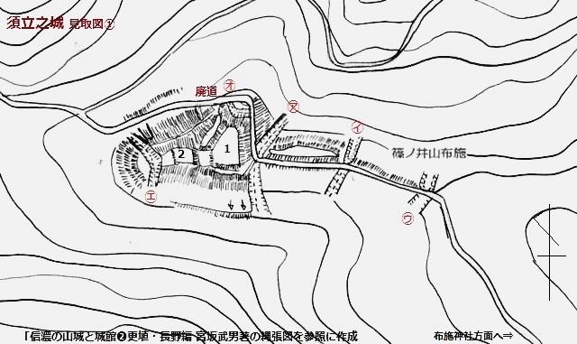 須立之城見取図①