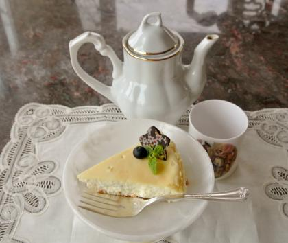 cheese cakeでtea time