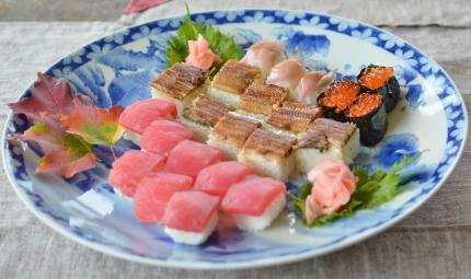お寿司でLunch