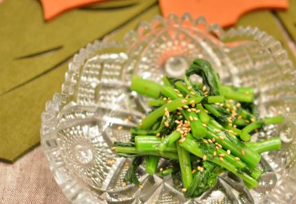 ブロッコリーロビーのサラダ