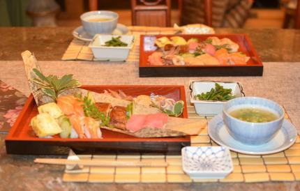 お寿司でdinner