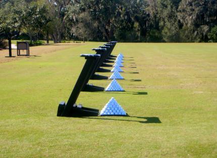 FLのゴルフ場で