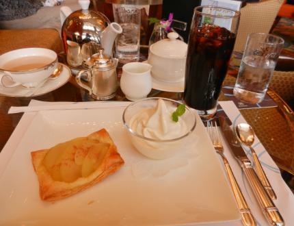 シラトンhotelでお茶を