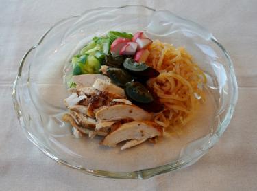 クラゲの前菜