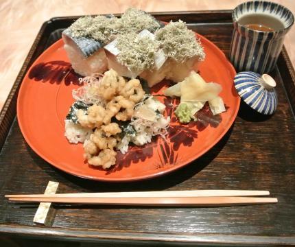 鯖鮨&鱧寿司