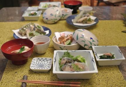 松茸で夕飯