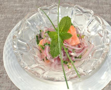 salmonマリネ