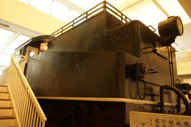 石炭ではなく、薪を搭載するように改造されている31号機のテンダ