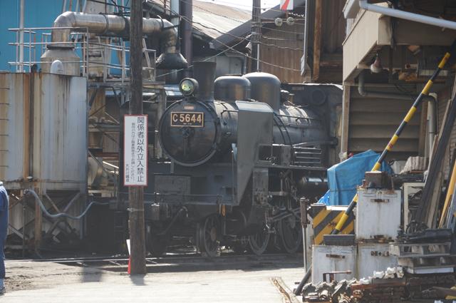 C56 44 大井川鉄道新金谷にて
