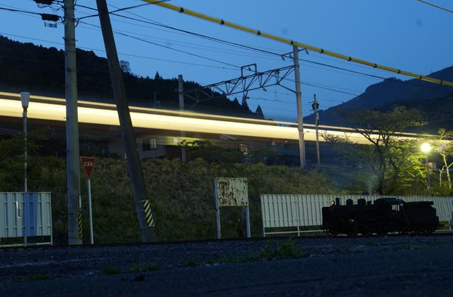 C56夜汽車と飯田線の夜汽車