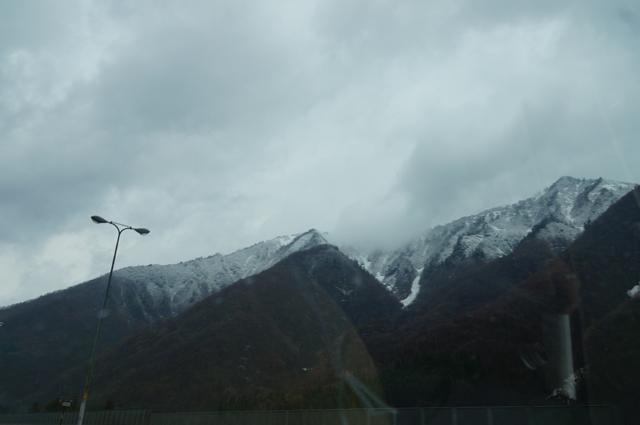 湯沢は雪!