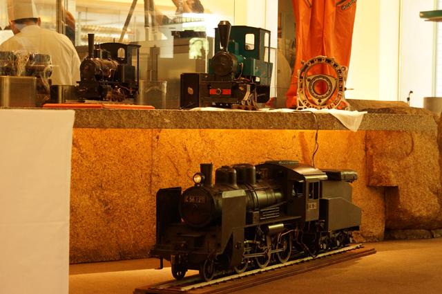 C56と頸城鉄道コッペルとフォルテと13B-REとチャージマツダのメカニックスーツ