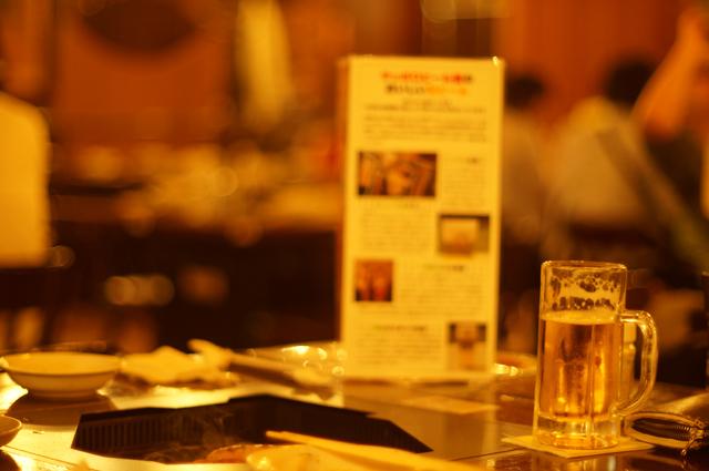 サッポロビール園でジンギスカン
