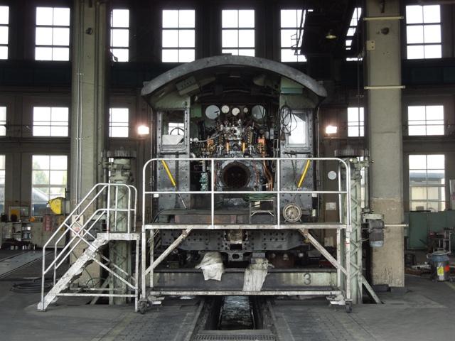 検査中のC56 160号機