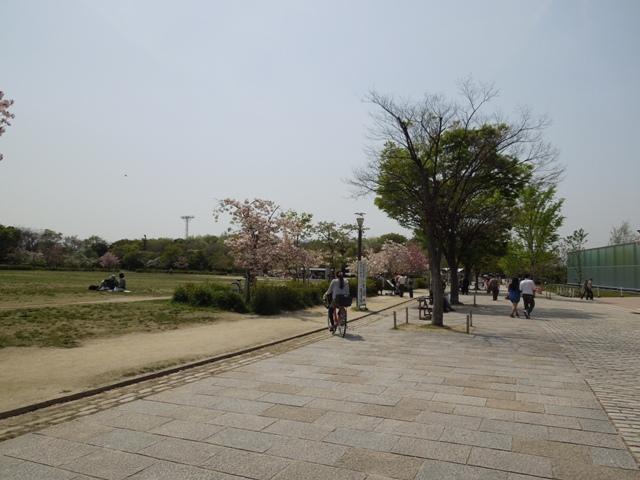 春の梅小路公園