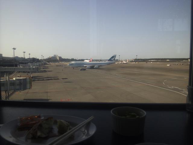 747が駐機