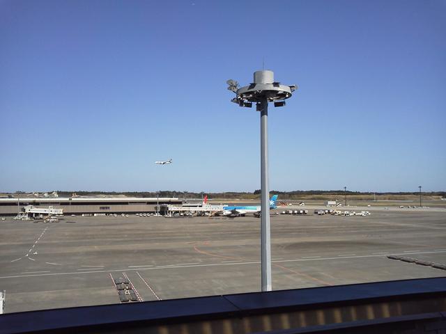 成田空港でみた飛行機