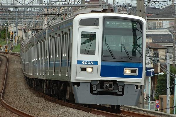 @西所沢駅付近