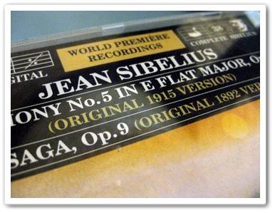 シベ5原典版世界初録音ジャケ