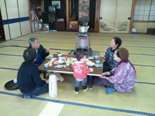 20130322お茶飲み話も春!