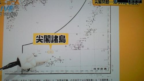 中国の地図に日本領として載っている尖閣諸島
