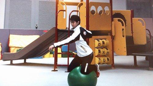 FSボール乗りゆづジャンプ練習1