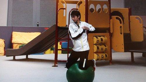 FSボール乗りゆづジャンプ練習2