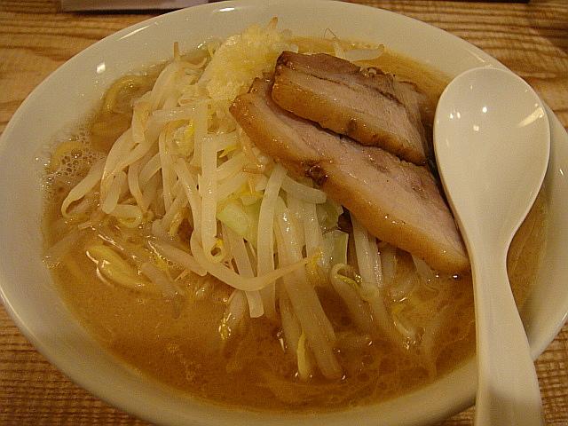 濃厚豚骨ラーメン(ニンニク入)@麺家 徳